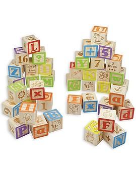 Maxim© Preschool Collection 40 Piece Abc Wooden Block Set by Buybuy Baby