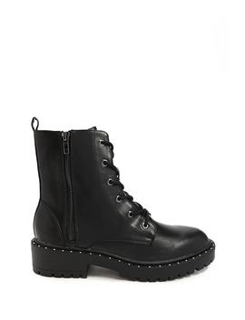 Studded Combat Boots by Forever 21
