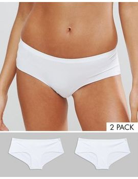 New Look 2 Pack Bonded No Vpl Short by New Look
