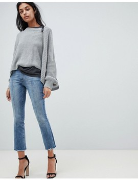 Dl1961 Lara Instasculpt Cropped Flare Jean by Dl1961