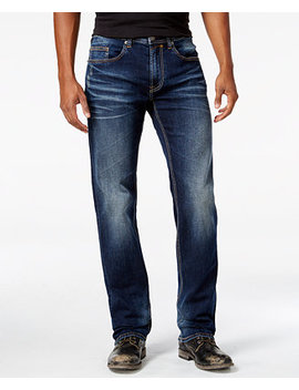 Men's Driven X Relaxed Straight Fit Stretch Jeans by Buffalo David Bitton