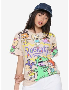 Rugrats Jumbo Allover Character Print Girls T Shirt by Hot Topic