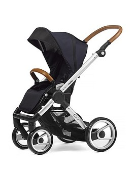 Mutsy Evo Stroller In Silver/Deep Navy by Bed Bath And Beyond