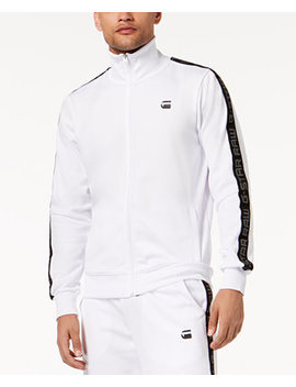 Men's Logo Print Track Jacket, Created For Macy's by G Star Raw