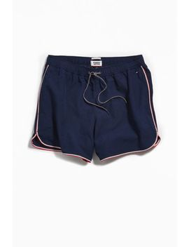 Tommy Jeans Drawstring Running Short by Tommy Jeans