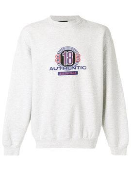 Balenciaga Bb Graphic Logo Sweatshirthome Men Clothing Sweatshirts by Balenciaga