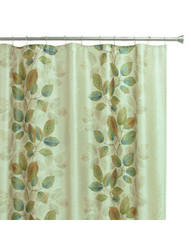 Bacova Waterfall Leaves Shower Curtain by Bacova Guild