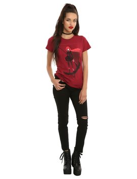 Rwby Crescent Rose Pose Girls T Shirt by Hot Topic