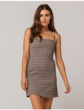 Ivy & Main Plaid Structured Dress by Ivy & Main