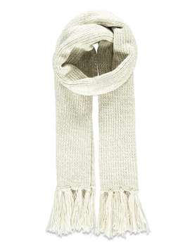 Fringed Cable Knit Scarf by Forever 21