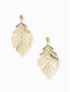 A New Leaf Statement Earrings by Kate Spade