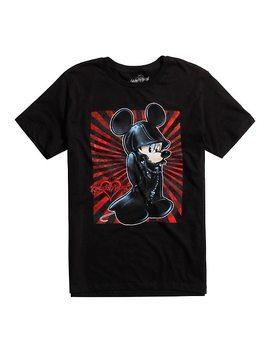 Disney Kingdom Hearts King Mickey Black Coat T Shirt by Hot Topic