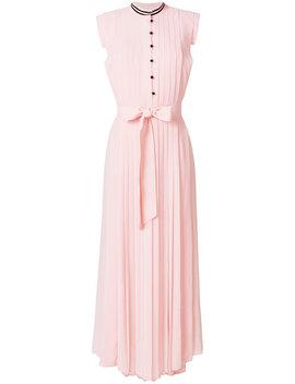 Pleated Sleeveless Maxi Dress by Philosophy Di Lorenzo Serafini