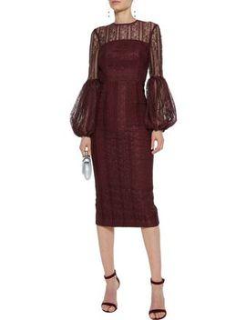 Open Back Lace Dress by Rebecca Vallance