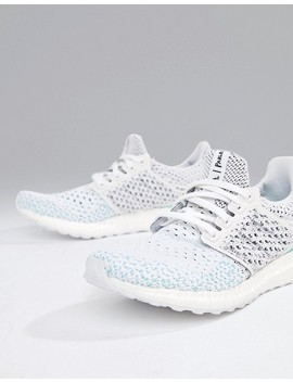 Adidas Running Parley Ultraboost Sneakers In White by Adidas
