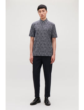Printed Polo Shirt by Cos