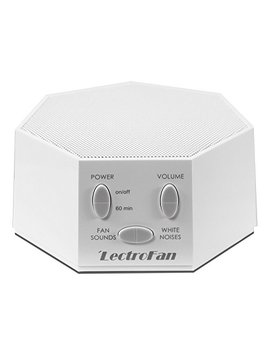 Lectro Fan High Fidelity White Noise Machine With 20 Unique Non Looping Fan And White Noise Sounds And Sleep Timer, Ffp by Adaptive Sound Technologies
