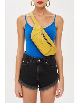 Madison Leather Bumbag by Topshop