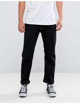 Diesel Jeans Waykee 886z Straight Fit Black by Diesel