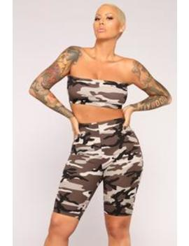 Hidden Motives Crop Top   Grey by Fashion Nova