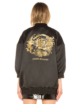Mid Bomber Jacket by Pierre Balmain