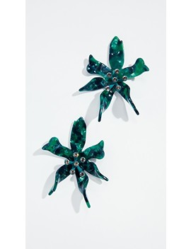 Water Lily Earrings by Lele Sadoughi