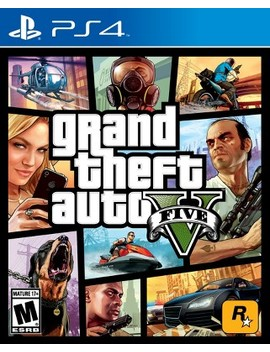 Grand Theft Auto V Play Station 4 by Rockstar Games
