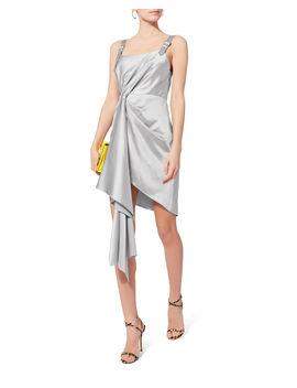 Cascade Silver Dress by Fleur Du Mal