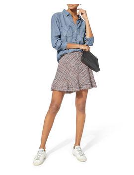 Stoney Tweed Skirt by Iro
