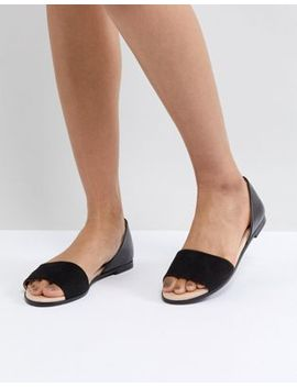 London Rebel Closed Heel Flat Sandal by Shoes