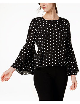 Flared Sleeve Top, Created For Macy's by Vince Camuto