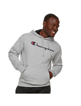Men's Champion Powerblend Pull Over Fleece Hoodie by Kohl's