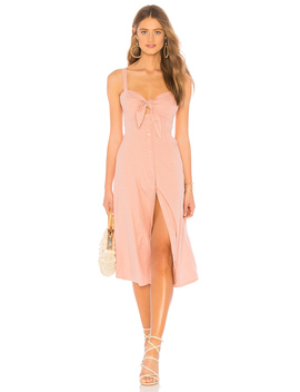 Dahlia Linen Slub Dress by Splendid