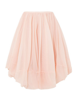 Gathered Tulle Skirt by Jil Sander