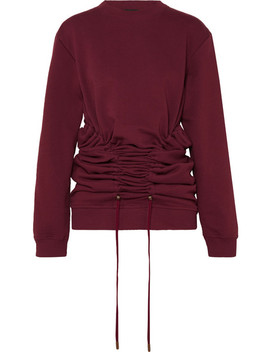 Drawstring Cotton Jersey Sweatshirt by Y/Project