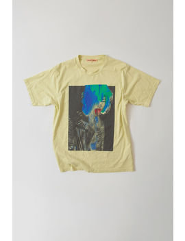 Special Edition T Shirt Lime Green by Acne Studios