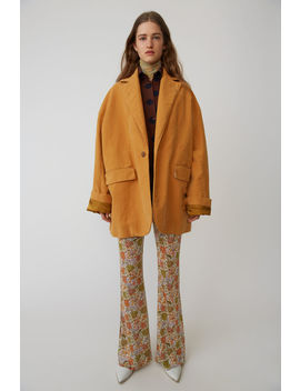 Oversized Jacket Sunflower Yellow by Acne Studios