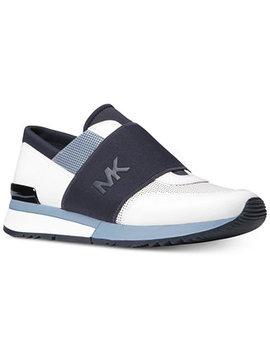 Mk Trainer Sneakers by Michael Michael Kors