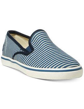 Janis Slip On Sneakers by Lauren Ralph Lauren