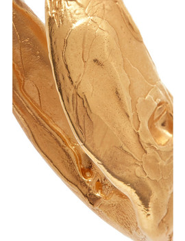 Surreal Gold Plated Earrings by Alighieri