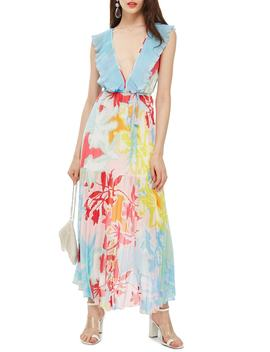 Paradise Plunge Maxi Dress by Topshop