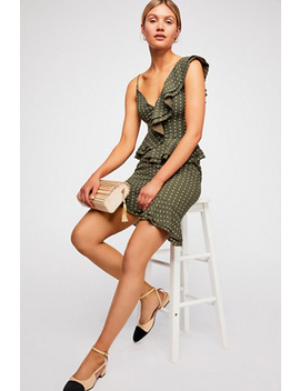 Entice Short Sleeve Mini Dress by Free People
