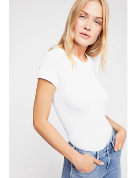 Ribbed Cap Sleeve Cami by Free People