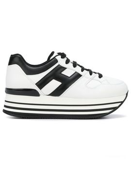 Hoganlogo Platform Sneakershome Women Shoes Trainers by Hogan