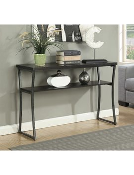 Porch & Den Bywater Japonica Metal Console Table by Porch & Den