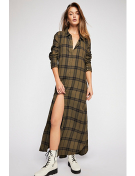 Tie Check Maxi by Free People