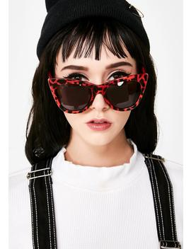 Cherry Hollywood Hillz Cat Eye Sunglasses by Lucent