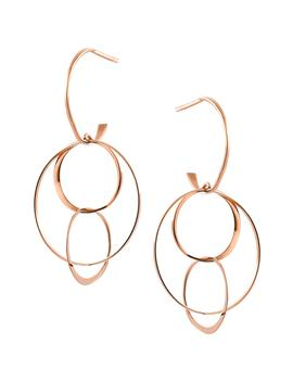Openwork Drop Earrings by Lana Jewelry