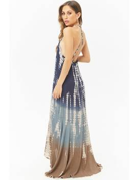 Boho Me Tie Dye High Low Maxi Dress by Forever 21