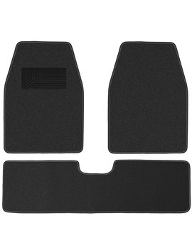 Ox Gord Weather Resistant 3pc Carpet Floor Mat Set For Trucks, Vans, And Su Vs Charcoal Gray by Ox Gord